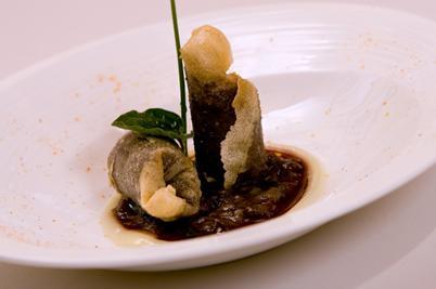 www.restaurantum.com_-_Restaurante_La_Cabaña_de_Alarcón_-_entrante_caliente.JPG